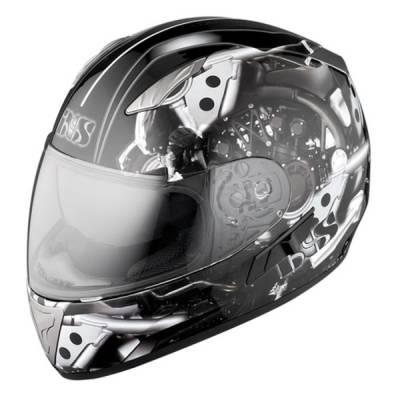 iXS B-Ware Helm HX 1000 Motor, schwarz-silber