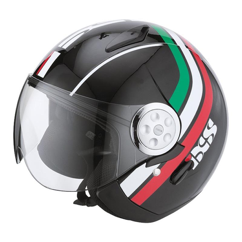 iXS B-Ware -  Helm HX 137 Style, schwarz-rot-grün
