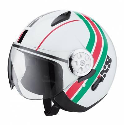 iXS B-Ware -  Helm HX 137 Style, weiß-rot-grün