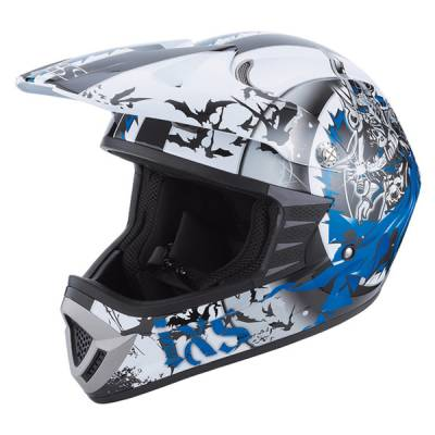 iXS B-Ware Helm HX 276 Sword, schwarz-blau-weiß
