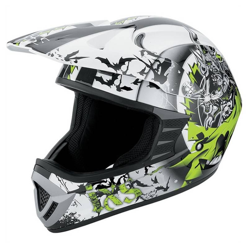 iXS B-Ware Helm HX 276 Sword, schwarz-grün-weiß