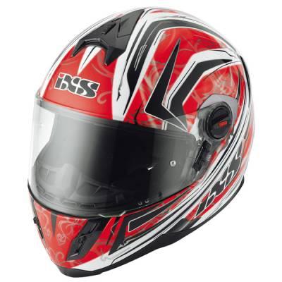 iXS B-Ware Helm HX 397 Blaze, rot-schwarz-weiß