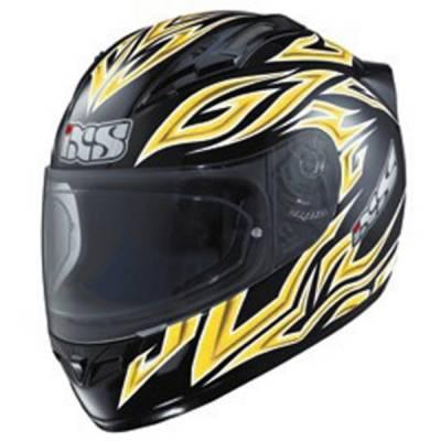 iXS B-Ware - Helm HX 402, schwarz-gelb