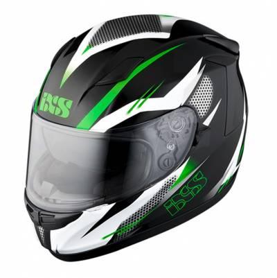 iXS B-Ware Helm HX 420 Speed, schwarz-weiß-grün