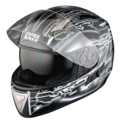 iXS B-Ware HX 1000 Fiction, schwarz-grau-weiß