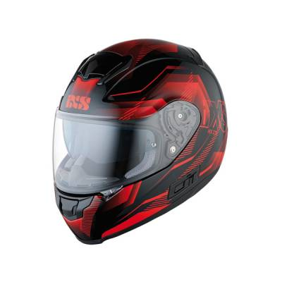 iXS B-Ware HX 215 Cristal, schwarz-rot