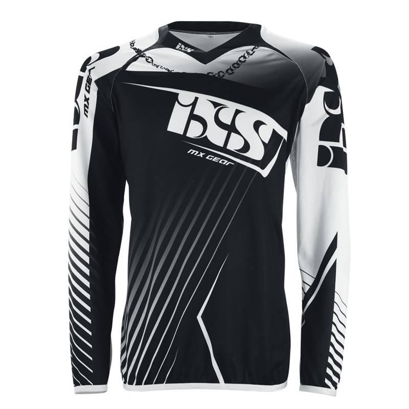 iXS Cross Shirt Atmore, weiß-schwarz