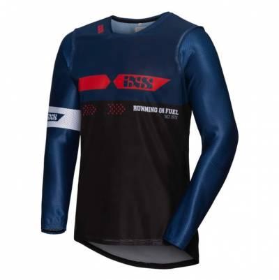 iXS Cross Shirt Jersey 19 2.0, schwarz-blau-rot