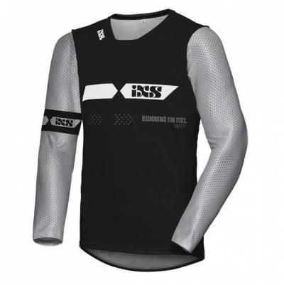 iXS Cross Shirt Jersey 19 2.0 schwarz-grau