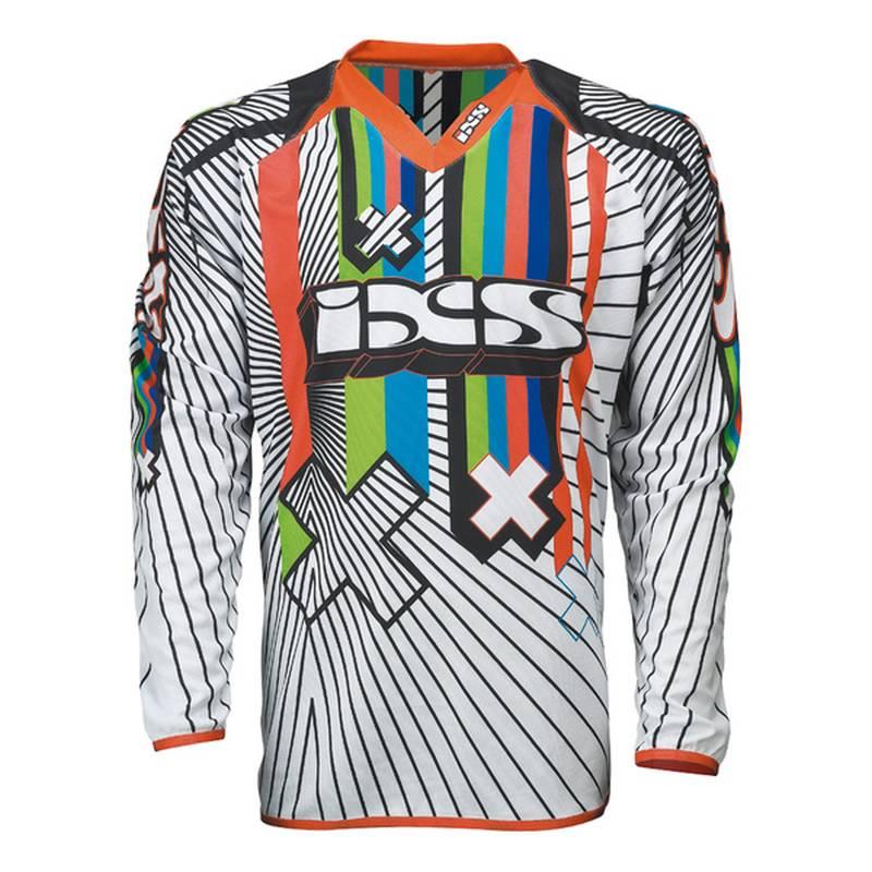 iXS Cross Shirt Rango Kids, weiß-schwarz