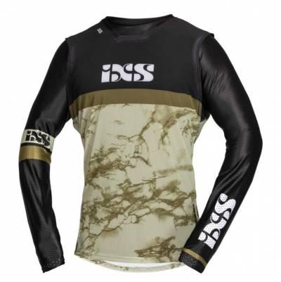 iXS Cross Shirt Trigger, braun-schwarz