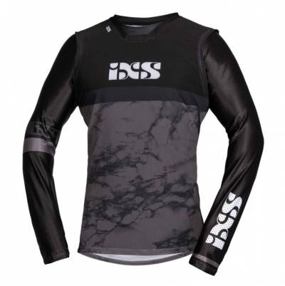 iXS Cross Shirt Trigger, schwarz