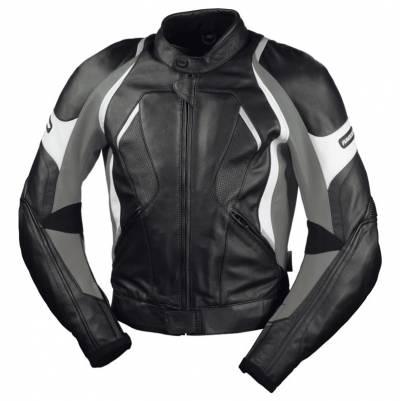 iXS Damen Jacke Canopus, schwarz-grau-weiß