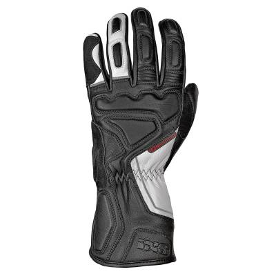 iXS Handschuh Tiga, schwarz-weiß