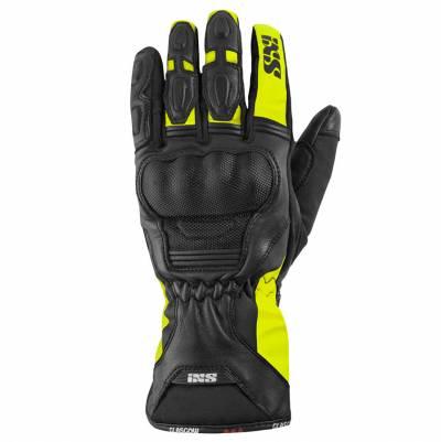 iXS Handschuhe Glasgow ST, schwarz-fluogelb