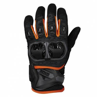 iXS Handschuhe Montevideo Air S, schwarz-grau-orange