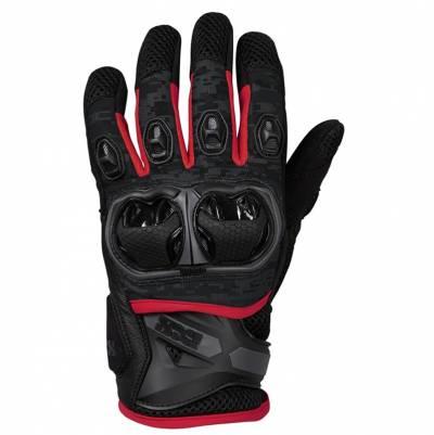 iXS Handschuhe Montevideo Air S, schwarz-grau-rot