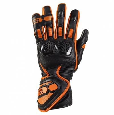 iXS Handschuhe RS-200 2.0, schwarz-orange