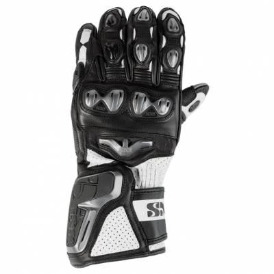iXS Handschuhe RS-400, schwarz-weiß