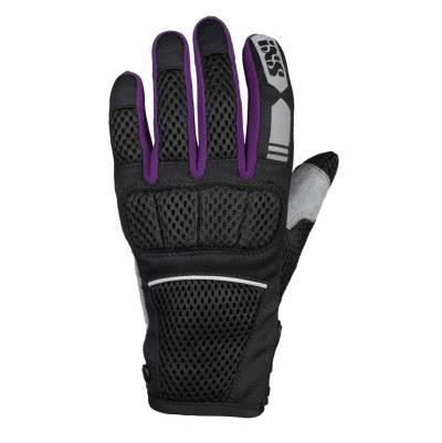 iXS Handschuhe Samur Air 1.0 Damen, schwarz-violett
