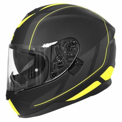 iXS Helm 1100 2.0, schwarz-fluogelb matt
