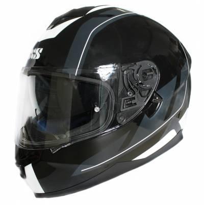 iXS Helm 1100 2.0,  schwarz-grau-weiß