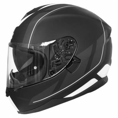 iXS Helm 1100 2.0,  schwarz-weiß matt