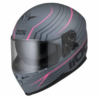 iXS Helm 1100 2.1, grau-pink matt