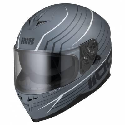 iXS Helm 1100 2.1, grau-weiß matt