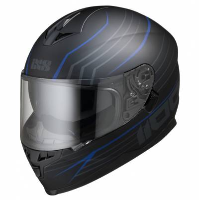 iXS Helm 1100 2.1, schwarz-blau matt