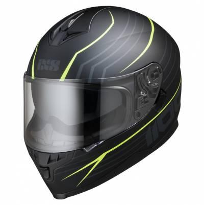 iXS Helm 1100 2.1, schwarz-fluogelb matt