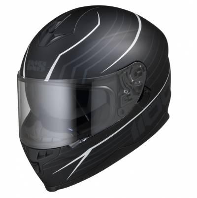 iXS Helm 1100 2.1, schwarz-weiß matt