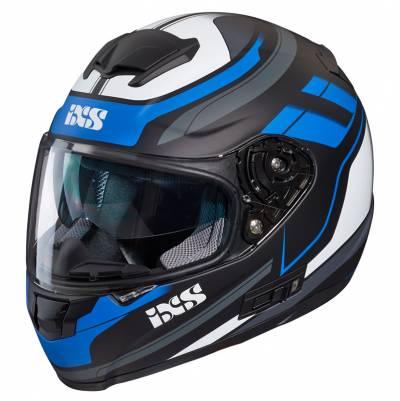 iXS Helm 215 2.0, schwarz-blau-weiß matt