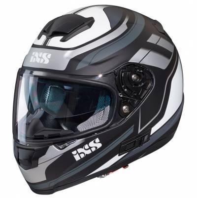 iXS Helm 215 2.0, schwarz-grau-weiß matt