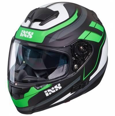 iXS Helm 215 2.0, schwarz-grün-weiß matt
