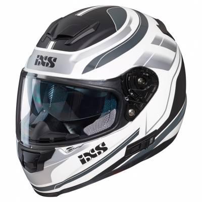 iXS Helm 215 2.0, weiß-grau-schwarz matt