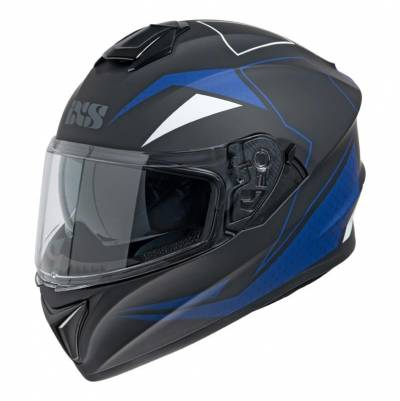 iXS Helm 216 2.0, schwarz-blau matt