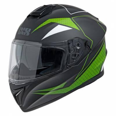 iXS Helm 216 2.0, schwarz matt-grün