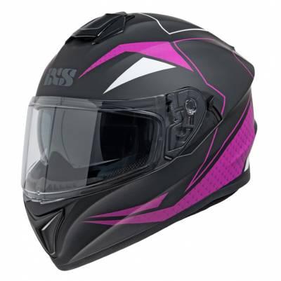 iXS Helm 216 2.0, schwarz-violett matt