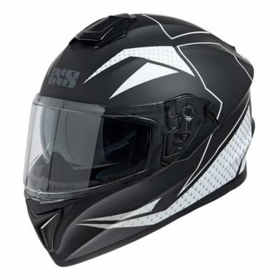 iXS Helm 216 2.0, schwarz-weiss matt