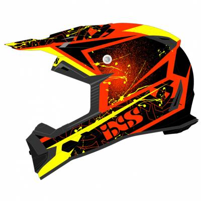 iXS Helm 361 2.0, rot-schwarz-gelb