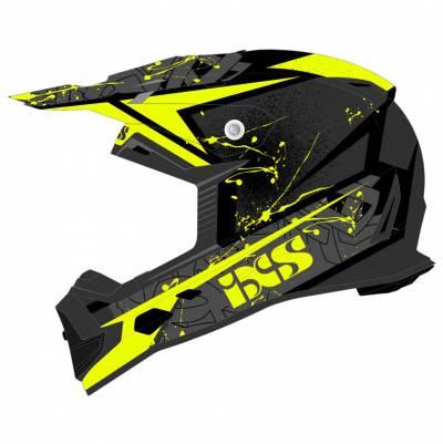 iXS Helm 361 2.0, schwarz-gelb matt