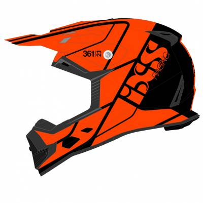 iXS Helm 361 2.1, schwarz-orange