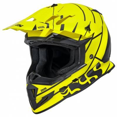 iXS Helm 361 2.2, matt gelb-schwarz