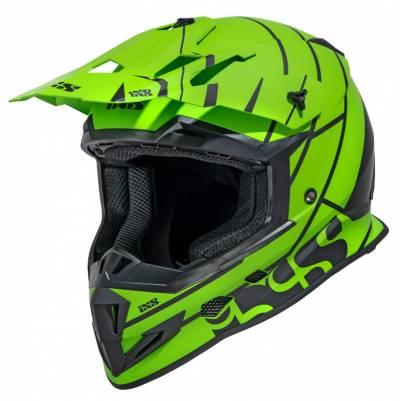 iXS Helm 361 2.2, matt grün-schwarz