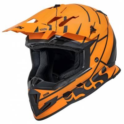 iXS Helm 361 2.2, matt orange-schwarz