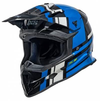 iXS Helm 361 2.3, schwarz-blau-grau