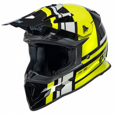 iXS Helm 361 2.3, schwarz-gelb-grau