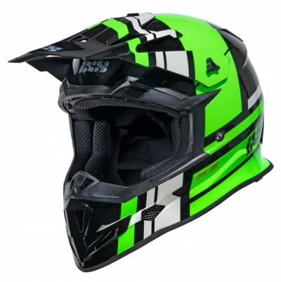 iXS Helm 361 2.3, schwarz-grün-grau