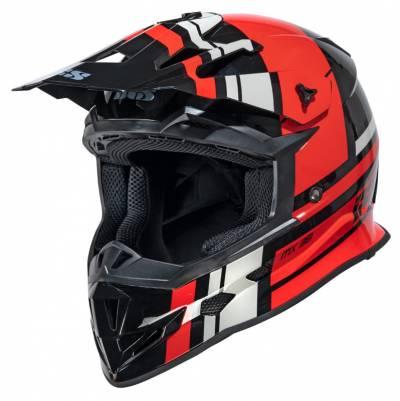 iXS Helm 361 2.3, schwarz-rot-grau